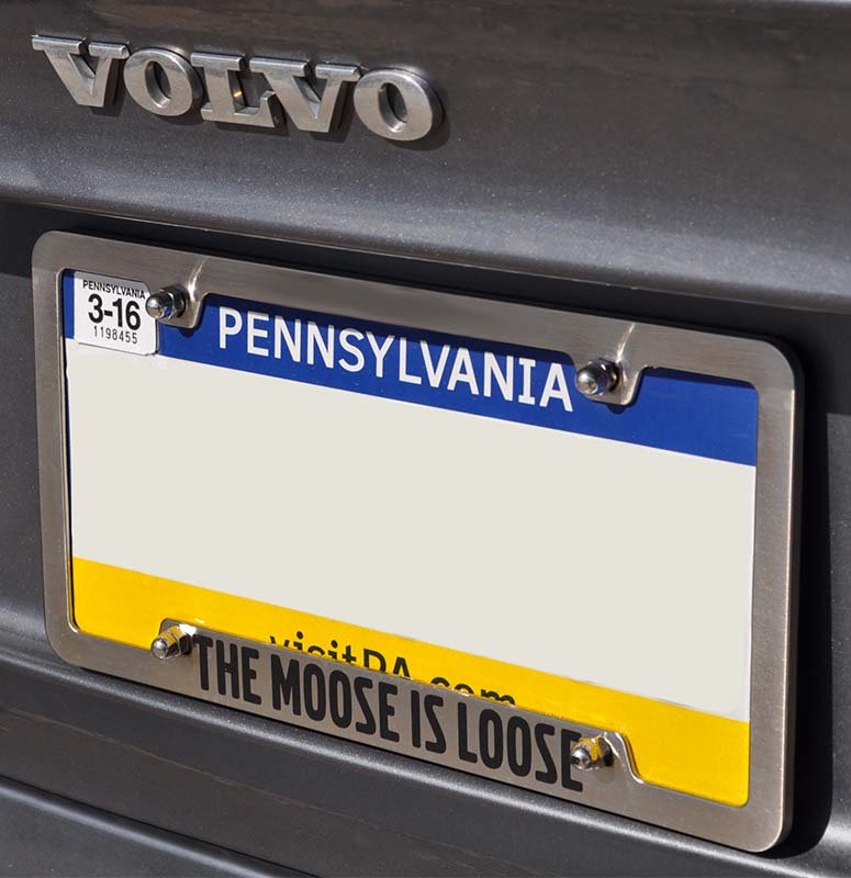 Dorable Fancy License Plate Frames Ensign - Custom Picture Frame ...